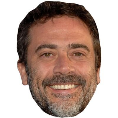 Jeffrey Dean Morgan Celebrity Mask, Card Face and Fancy Dress Mask -