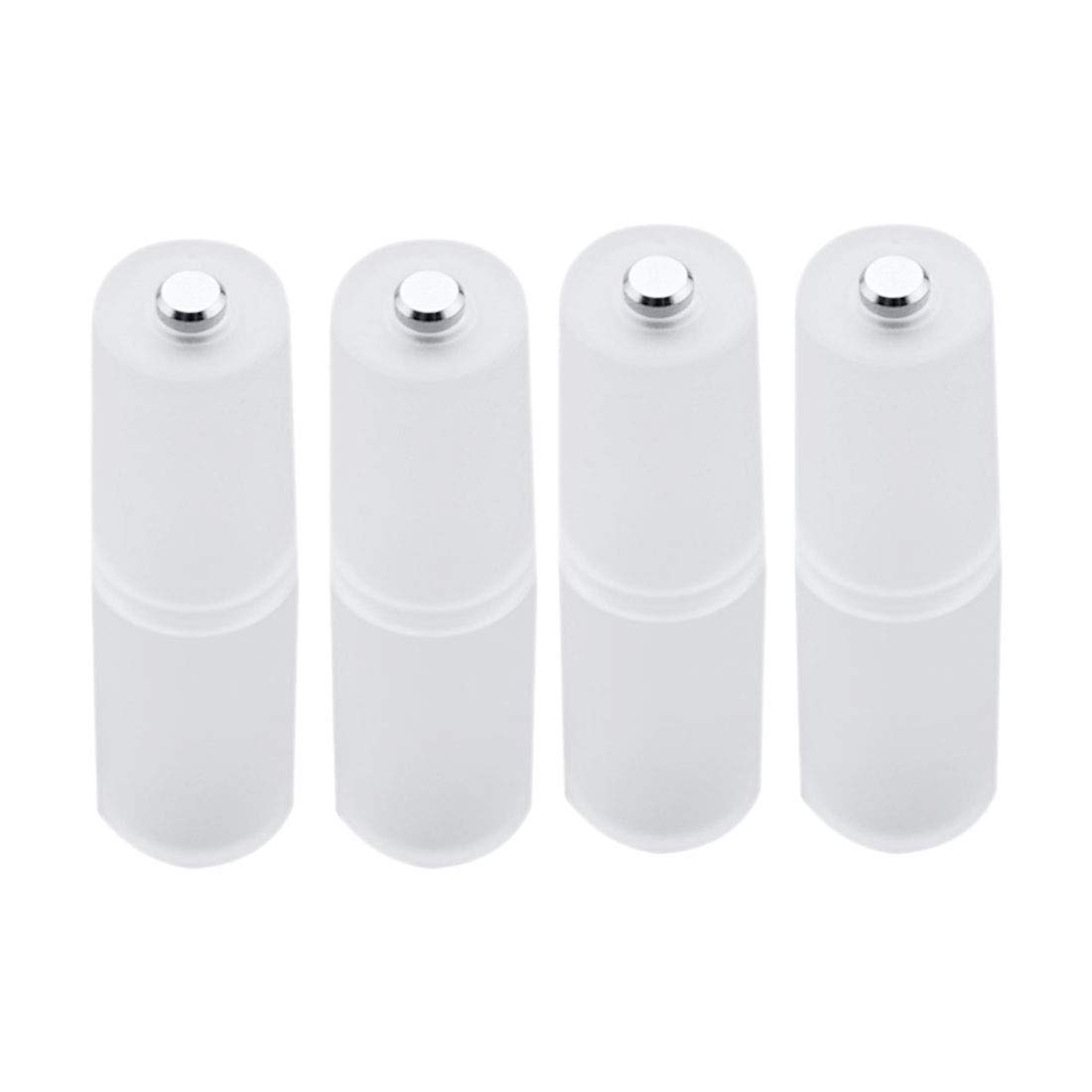 4Pcs Cell Battery box Converter Adapter Batteries Holder Plastic Case Switcher for AAA to AA Size