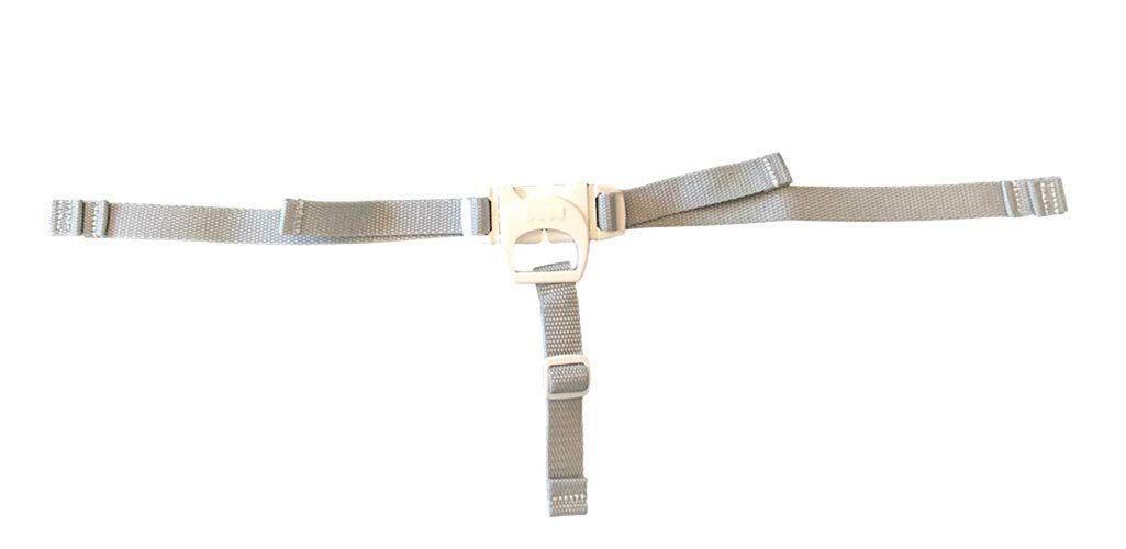 Fisher Price Replacement SpaceSaver Highchair 3-Point Waist & Crotch Straps Gray by Fisher-Price