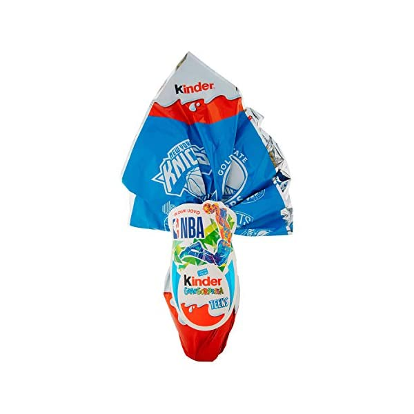 Kinder Gran Sorpresa Nba, Uovo di Pasqua - 200 g 1 spesavip