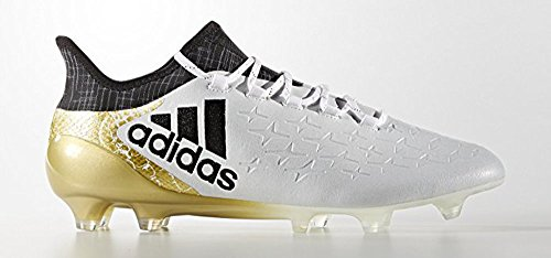 adidas X 16.1 FG White/Gold/Black clearance official recommend sale online NGh9vlC4q