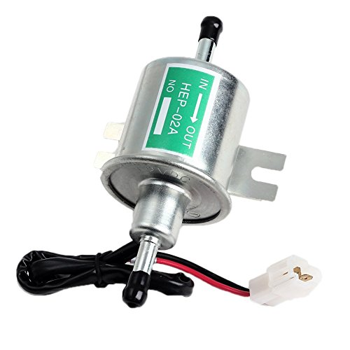 Jiale Universal 12V 1.2A Heavy Duty Electric Silver Gas Diesel Fuel Pump Metal In-tank Solid Petrol Pumps Module, CAR BOAT HEAVY DUTY ELECTRIC FUEL PUMP METAL DIESSEL / PETROL HEP-02A SET (Module Tank)
