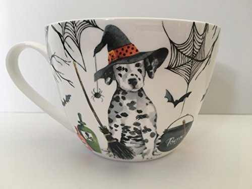 Portobello by Inspire Halloween Bone China Large Coffee Tea Mug Dalmatian dog Home Decor