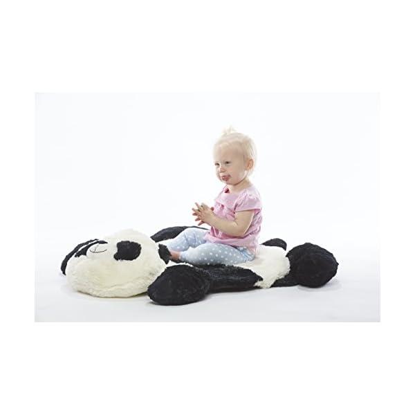 Baberoo Panda Plush Nursery Rug, Soft Baby Rug, 37″x30″
