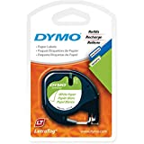 12Mm Label Printer - DYMO LT Paper Labels, Black Print on White Labels, 1/2-Inch x 13 Feet, 2 Rolls