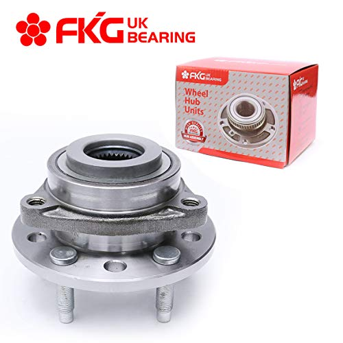 FKG 513089 Front Wheel Bearing and Hub Assembly fit for Chrysler 300M Concorde Intrepid LHS New Yorker, Eagle Vision 5 lugs - Lhs Front Hubs