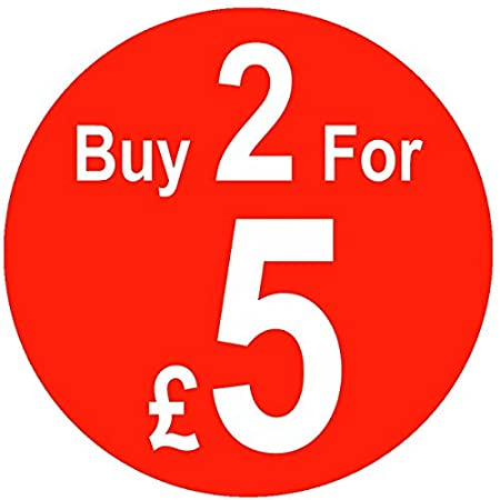 500 Price Stickers Buy 2 For /£5-25mm