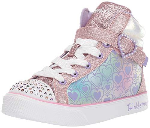 skechers twinkle toes high tops - 8