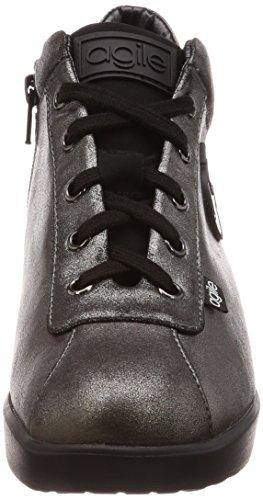 Donna CANNA 226 FUCILE DI Zeppa Agile Sneakers RUCOLINE BFPqZAw
