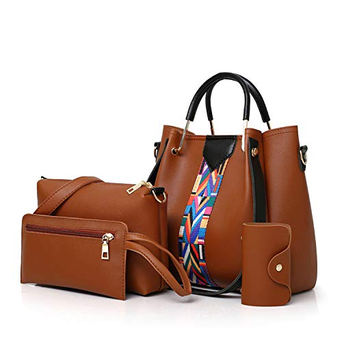 Women Messenger Bags Ladies Handbag PU Casual Bag Wristlets ()
