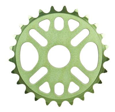 Evoke tretlagerwelle Micro Kettenblatt, 25T, grün