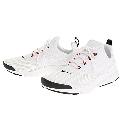 NIKE Mens Presto Fly Running Shoes White Black