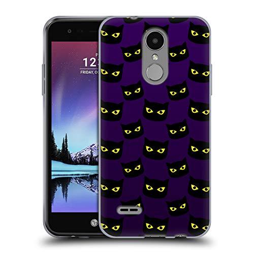 Official PLdesign Cat Purple Pattern Halloween Soft Gel