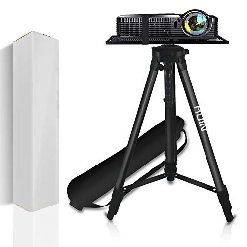 Projector Stand,Laptop Stand,Aluminum Multifunction Tripod Stand with Tray Adjustable Tripod Laptop Projector Stand, 20