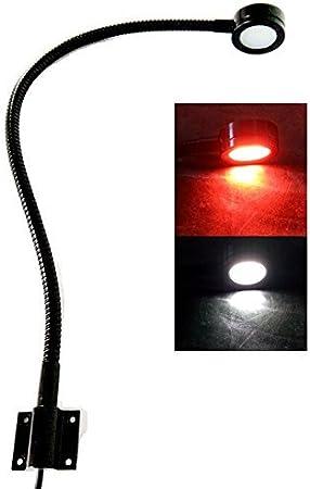 Marine 12 V Led Weiß Rot Licht 50 8 Cm Schwanenhals Arm Dimmbar Lampen Flexible Lesung Diagramm Licht Für Boot Wohnmobil Caravan Sport Freizeit