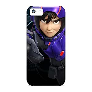 MansourMurray Iphone 5c Protector Cell-phone Hard Covers Support Personal Customs High-definition Big Hero 6 Image [DJG6857lnNe]