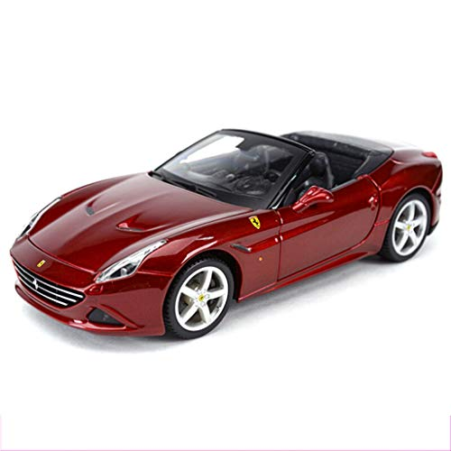 PENGJIE-Model 1:24 Ferrari California Convertible Classic Sports Car Static Car Model Simulation Alloy Car Model Collection Ornaments Gifts (Color : Ferrari California Hood)