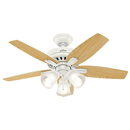 Hunter 51083 Newsome Ceiling Fan With Light 42 Small