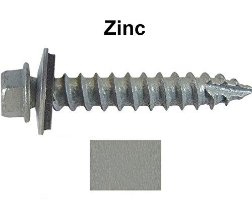 #14 Metal ROOFING SCREWS: (250) Screws x 1