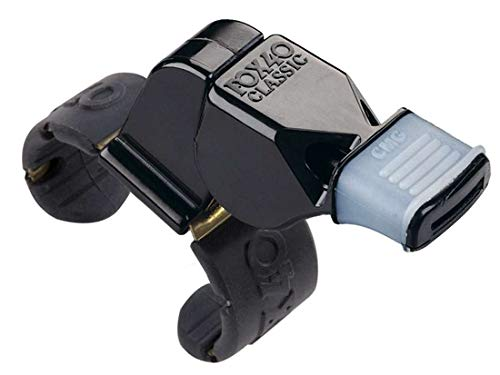 Fox 40 Classic CMG Official Finger Grip Whistle (Renewed) ()