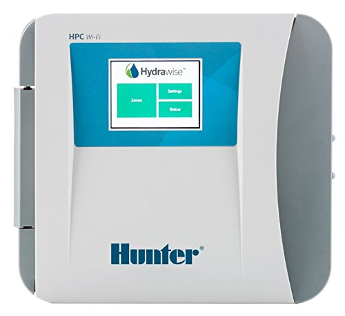 SPW Hunter HPC-FP Hydrawise Face Panel Upgrade for Pro-C Timers HPC Front Panel Professional Grade WiFi Android Apple App HPCFP Face Plate (Hunter Irrigation Controller)