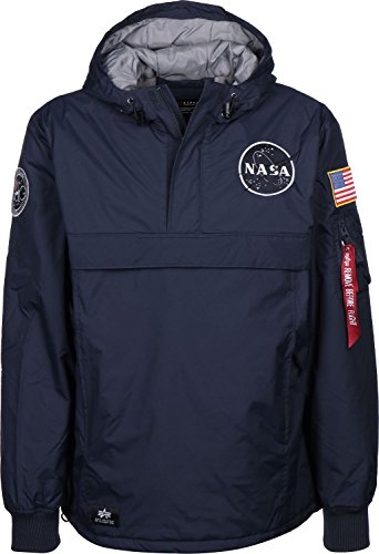 Industries Giacca Blue Nasa Anorak Alpha Invernale Repl T6qCaCwx