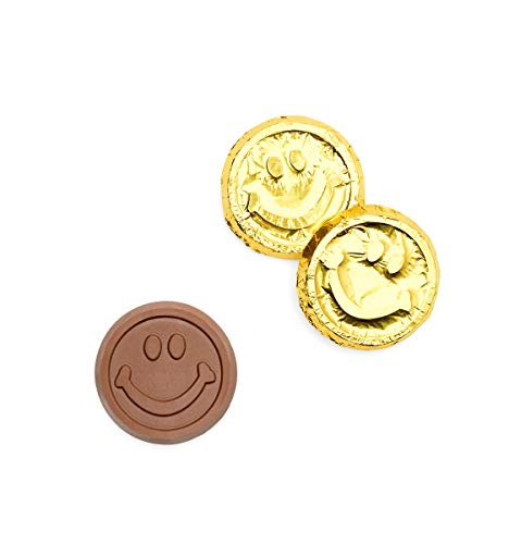 (250 Smiley Face Gold Foiled Coins Promo Items)