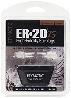 Etymotic Research ER20XS-CCC-C High-Fidelity Earplugs, 1 Pair, Large Fit, Clamshell Package (B00RM6Q3BA)   Amazon Products