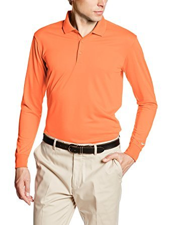NIKE MENS GOLF DRI-FIT ナイキ メンズ ゴルフ ロングスリーブ 長袖 POLOシャツ 725515-842 [並行輸入品]