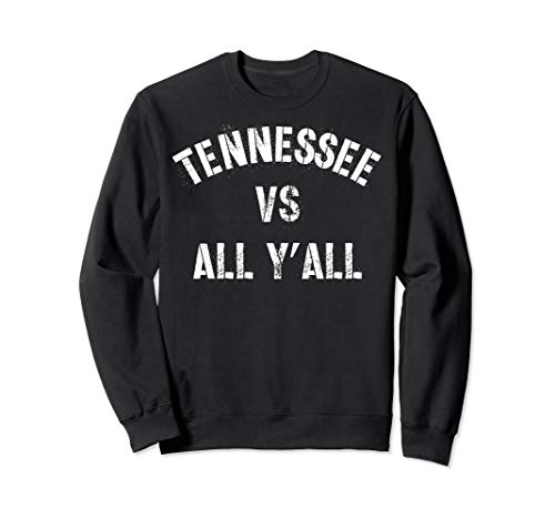Tennessee Football VS All Yall T-shirt Knoxville Sweatshirt