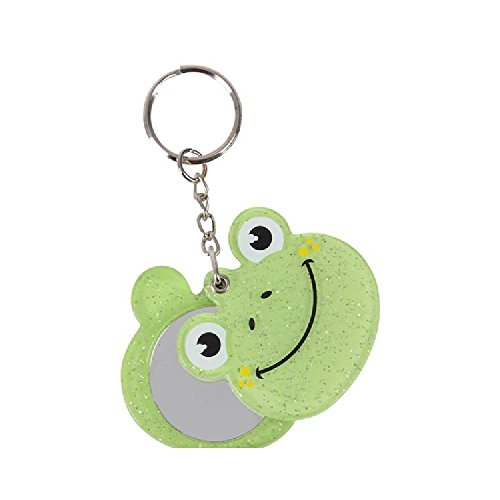 1.75'' Frog With Mirror Keychain by Bargain World