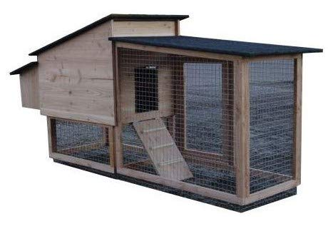 Gallinero Chico 80 - 2 A 4 gallinas Picea macizas creación Francesa: Amazon.es: Productos para mascotas