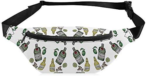 Gin&ginger 女性のウエストバッグpuショルダーバッグ防水性と耐久性のある調整可能なメンズウエストバッグ