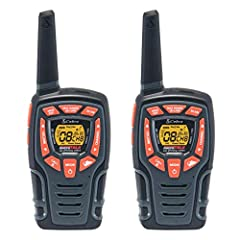 Cobra CXT565 Willkie Talkies 28-Mile 22 Channel, Waterproof, Weather and Emergency Radio, Rechargeable Batteries