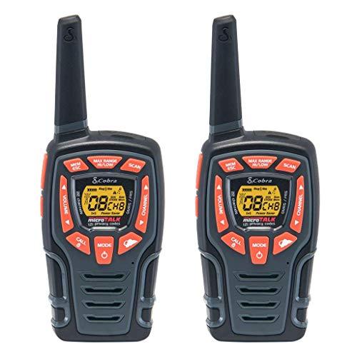 Cobra CXT565 Walkie Talkies 28-Mile Two-Way Radios, Rechargeable (Pair)