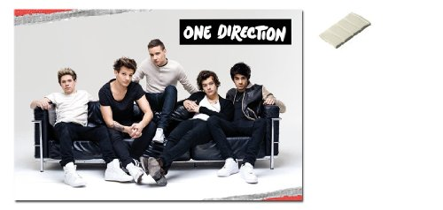 Bundle - 2 Items - One Direction On Sofa Poster - 91.5 x 61c