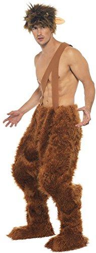 Mens Pan Greek God Legend Myth Hero Stag Do Fancy Dress Costume Outfit Medium (Medium) ()