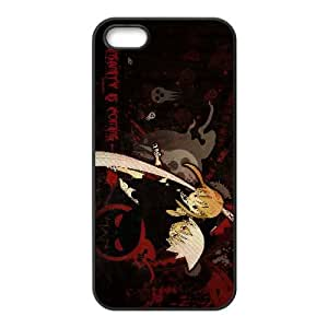 iPhone 5 5S Case Black Soul Eater Cell Phone Case Cover B5S8WV