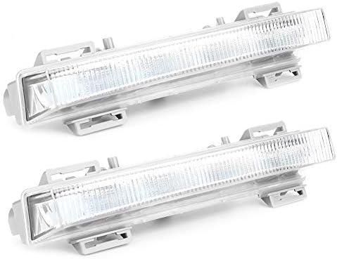 Qiilu Car Daytime Running Light 1pair DRL Fog Lamp fit for GLE300d GLE350 ML250 2049065401 / Qiilu Car Daytime Running Light 1pair DRL Fog Lamp fit for GLE300d GLE350 ML250 2049065401