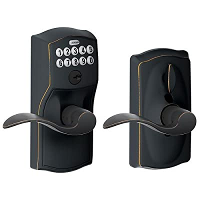 Schlage Camelot Keypad Entry with Accent Levers