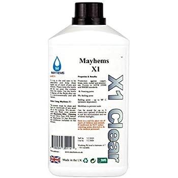 Mayhems X1 Coolant Premix, 1000mL, Clear