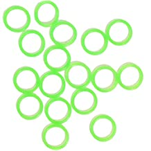 Green Silicone O-Rings (Pack of 10)