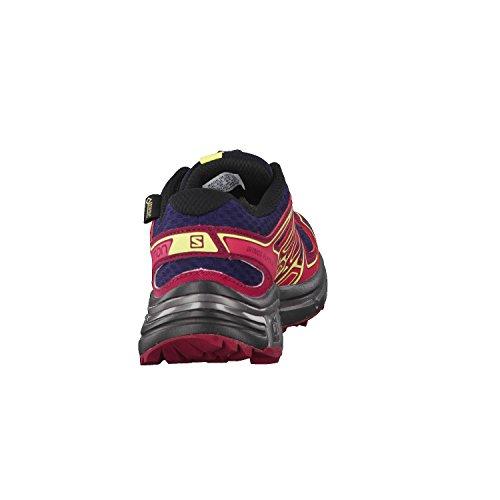 De Dunkelblau L39068000 Sentier Femme Chaussures Course Pour Salomon Sur Weinrot dq87w7HB