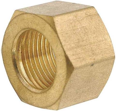 1//2 Compression Low Lead Brass Nut