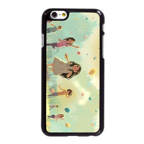 U1K73 enfance D1G1GM coque iPhone 6 Plus de 5,5 pouces cas de couverture de téléphone portable coque noire WR4ZSV2PW