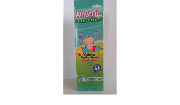 Amazon.com: Arrurru Naturals Newborn Cologne~Colonia Recien Nacido ...