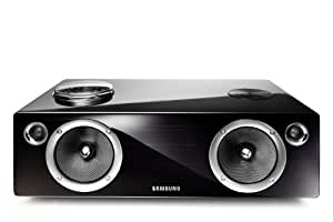 Samsung DA-E751 2.1channels 100W Negro acoplamiento altavoz - Altavoces (2.1 canales, 100 W, iPad,iPhone, Negro, Digital, 60 W)
