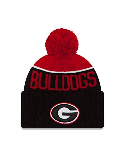 NCAA Georgia Bulldogs Ne 15 Sport Cuff Knit Beanie, Black, One Size