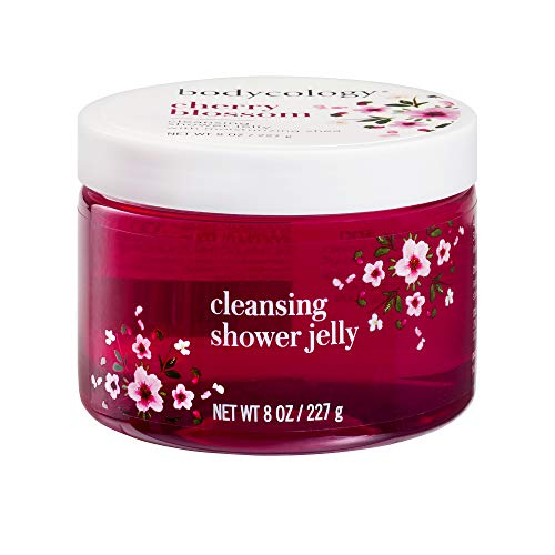 (Bodycology Shower Jelly, Gentle Cleanser - Cherry Blossom - 8 oz)