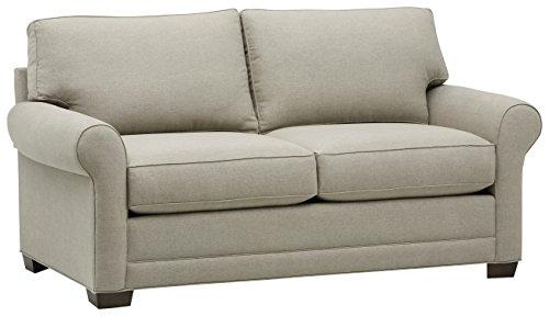 Stone & Beam Kristin Round Arm Performance Fabric Loveseat Sofa Couch, 76